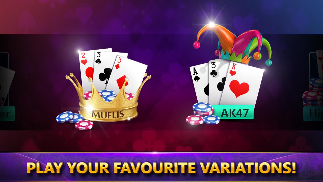 Teen patti - Variations